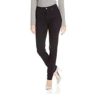 NWT Black Levi 512 Skinny Jeans